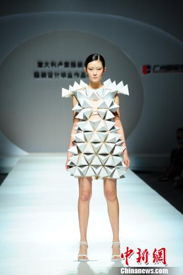 卢索服装学院在穗展示意大利服装设计风